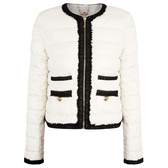 Juicy Couture Jackets & Blazers - Juicy Couture Quinn Quilted Puffer Jacket Coat M